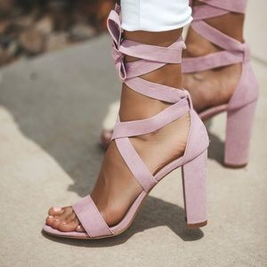 New Lilac heels